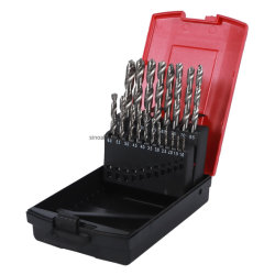 1mm HSS Twist Drill Set Series for Withdrawal Box Packing