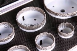 Vacuum Brazed Diamond Hole Saw Core Bit Kits Set